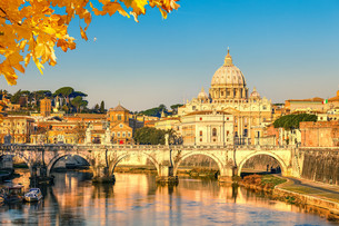 St. Peter&#39 s cathedral in Romeの写真素材 [FYI00663919]