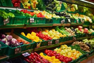 supermarket vegetablesの写真素材 [FYI00663923]