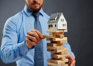 Risk in housing businessの素材 [FYI00663971]