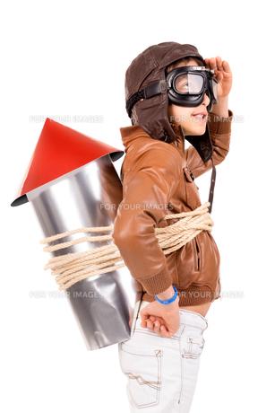 Rocket boyの写真素材 [FYI00664031]