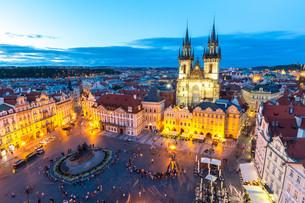 Old Town Square Prague, Czech republicの写真素材 [FYI00664132]
