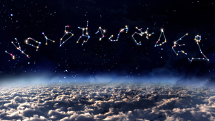 color Horoscopes spaceの素材 [FYI00664223]