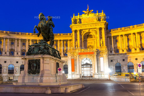 Hofburg Palaceの写真素材 [FYI00664467]