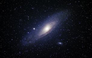 アンドロメダ銀河の写真素材 [FYI00664577]