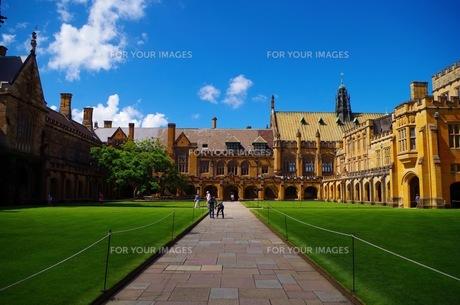 シドニー大学校舎の写真素材 [FYI00664843]