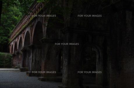 南禅寺水路閣の写真素材 [FYI00664861]