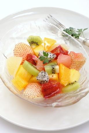 フルーツサラダの写真素材 [FYI00665015]