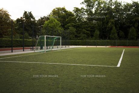 football fieldの写真素材 [FYI00665447]