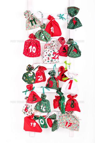 filled christmas bagの素材 [FYI00665472]