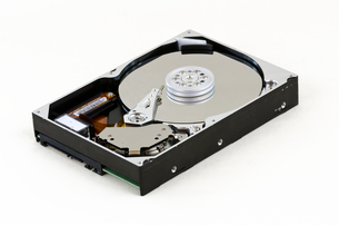 opened hard diskの写真素材 [FYI00665567]