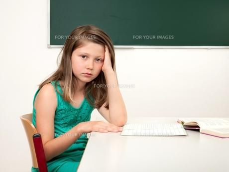 school stressの写真素材 [FYI00665785]