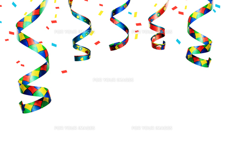 streamers,party decorationの素材 [FYI00666101]