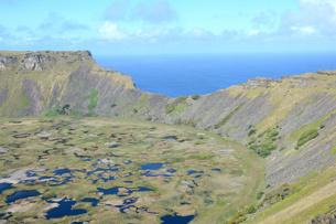 volcanic craterの素材 [FYI00666185]