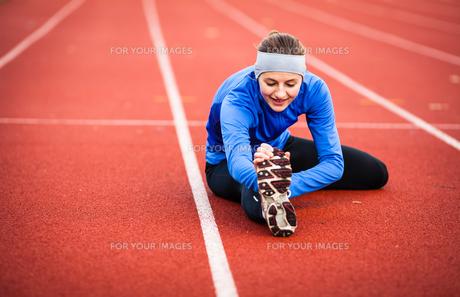 athletic_sportsの写真素材 [FYI00666810]