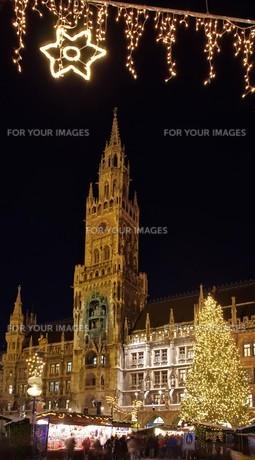 munich christmas market - munich christmas market 07の写真素材 [FYI00666936]