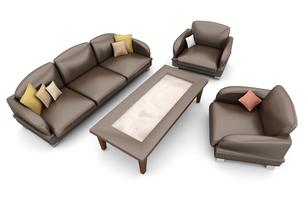 armchairの写真素材 [FYI00667256]
