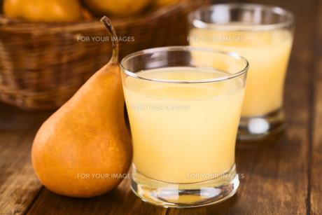 pear juiceの写真素材 [FYI00667554]