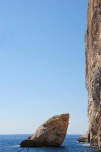 ogliastra coastline in sardiniaの写真素材 [FYI00667689]
