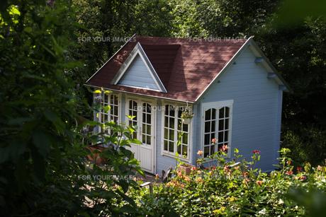 garden shed in b?singfeldの素材 [FYI00668150]