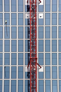 high-rise craneの写真素材 [FYI00669068]