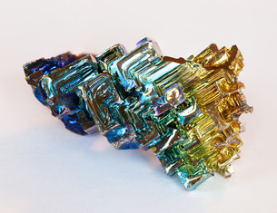 bismuth crystalの写真素材 [FYI00669264]