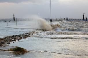 storm on the north seaの写真素材 [FYI00669480]