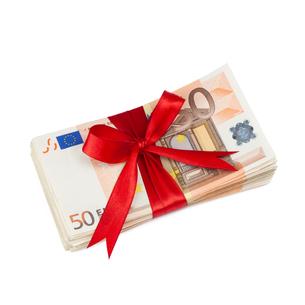 gift money 2の写真素材 [FYI00669488]