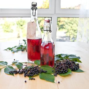 syrups and elderberriesの素材 [FYI00669976]