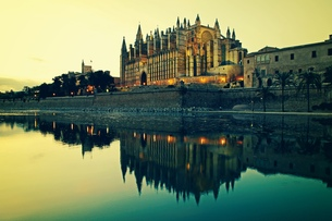 palma cathedralの写真素材 [FYI00670747]
