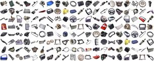 car partsの写真素材 [FYI00670933]