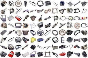 car partsの写真素材 [FYI00670935]