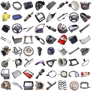 car partsの写真素材 [FYI00670939]