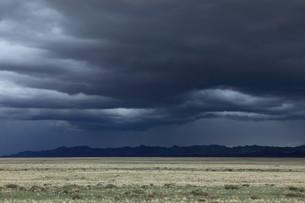 rainy season in mongoliaの写真素材 [FYI00671284]