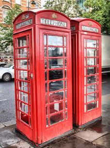 telephone boxの写真素材 [FYI00671305]