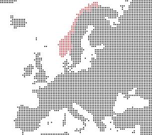norway - series: pixel map europeの写真素材 [FYI00671340]