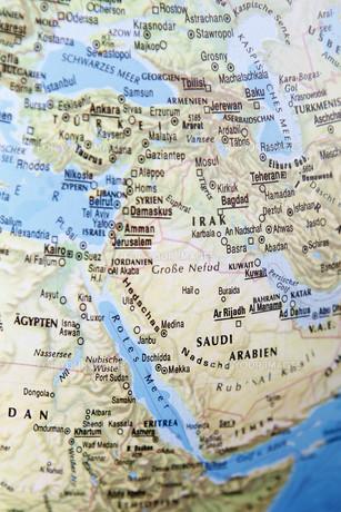 globe middle eastの写真素材 [FYI00671950]