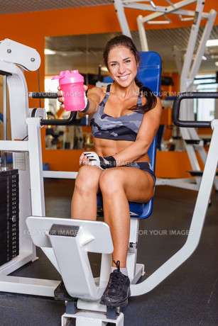 fitness_funsportの写真素材 [FYI00673715]
