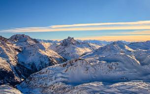 alpine panoramaの写真素材 [FYI00673770]