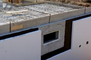 insulation of a basementの写真素材 [FYI00673807]