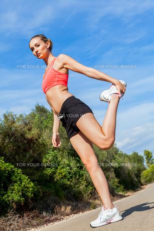 athletic_sportsの写真素材 [FYI00674399]