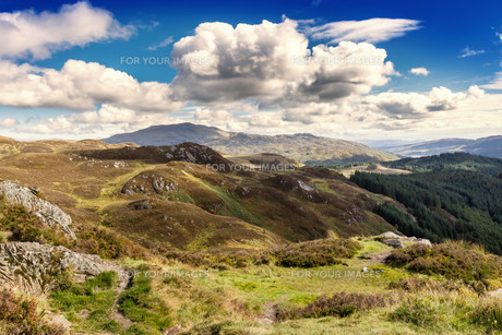 highlandsの写真素材 [FYI00676050]