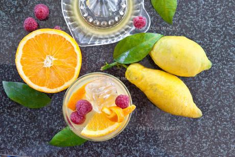 fresh orange sodaの素材 [FYI00676500]