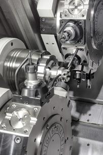 lathe,cnc milling machineの写真素材 [FYI00676708]