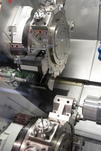 lathe,cnc milling machineの写真素材 [FYI00676709]