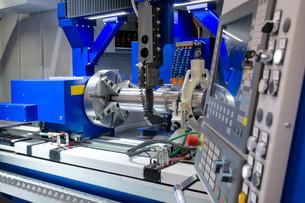 lathe,cnc milling machineの写真素材 [FYI00676710]