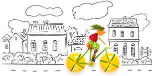 Fruity cyclist.の素材 [FYI00676726]