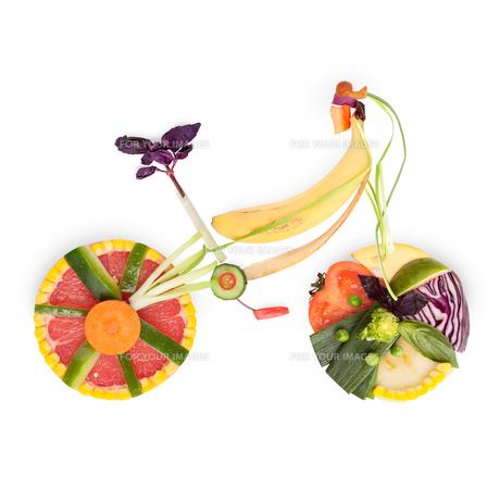 Fruity bicycle.の素材 [FYI00676730]