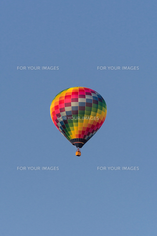 hot air balloonの写真素材 [FYI00677691]
