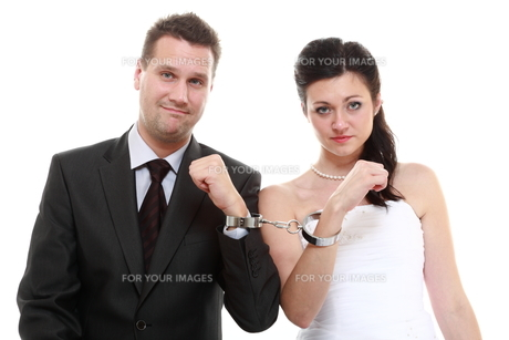 relationship concept couple in divorce crisisの写真素材 [FYI00678574]