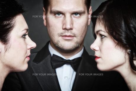 relations between men and women love passion betrayalの写真素材 [FYI00678984]